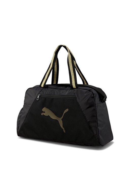 Puma At Ess Unisex Siyah Spor Çantası - 07736605 1