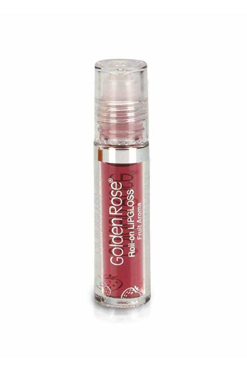 Golden Rose Meyveli Dudak Parlatıcısı - Roll On Lipgloss Çilek 8691190890520 1