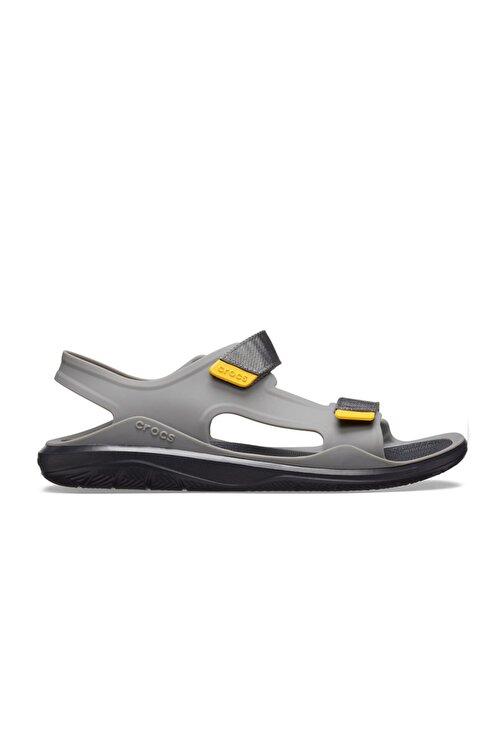 Crocs 206526-0dy Slate Grey Crocband Sandalet 1