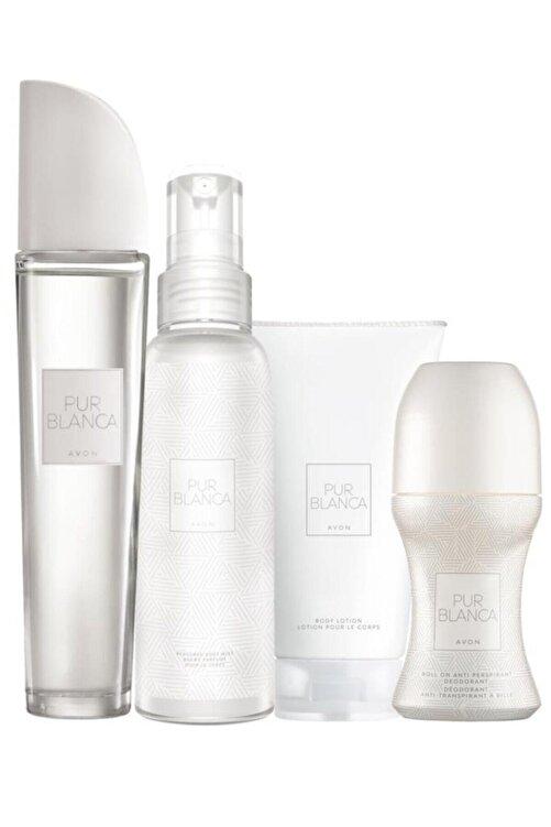 AVON Pur Blanca Edt 50 ml Kadın Parfümü Seti 5050000010979 1