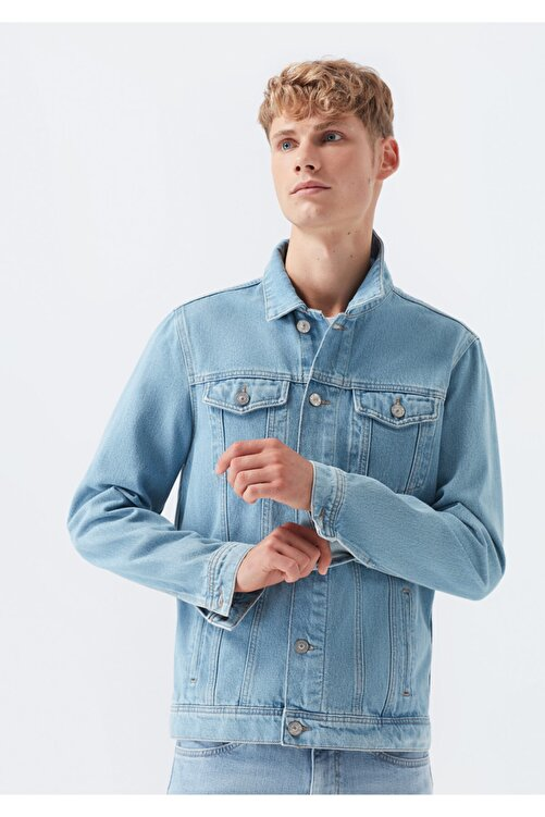 Mavi Erkek Frank Vintage Jean Ceket 0115228232 1
