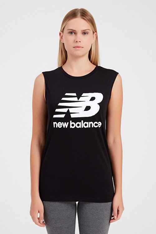 New Balance Kadın T-shirt - Vom Athlete Tee - V-WTT917-BK 1
