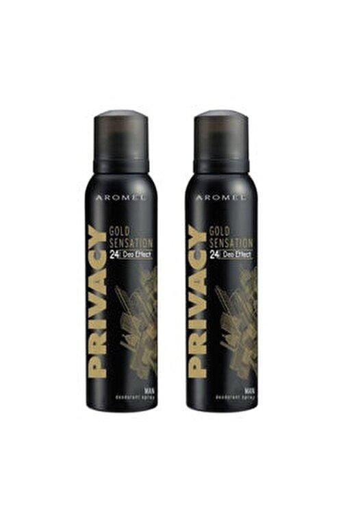 Privacy Gold Men Deodorant 2 X 150 ml 1