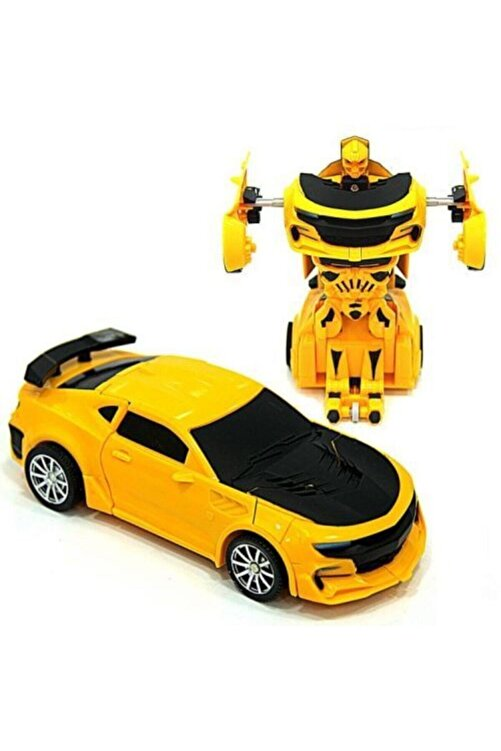 CAN OYUNCAK Robot Olan Araba Bumblebee 1