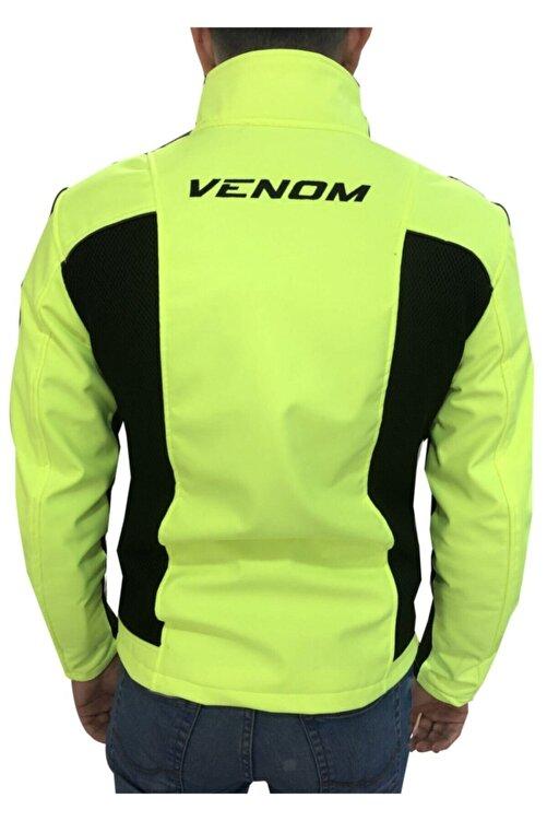VENOM Jaws Aır Mesh Soft Shell Yeşil Motosiklet Montu 2