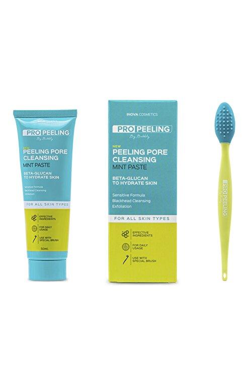 İnova Cosmetics Pro Peeling Sivilce -Akne Karşıtı Özel Fırçalı Peeling Macunu 1