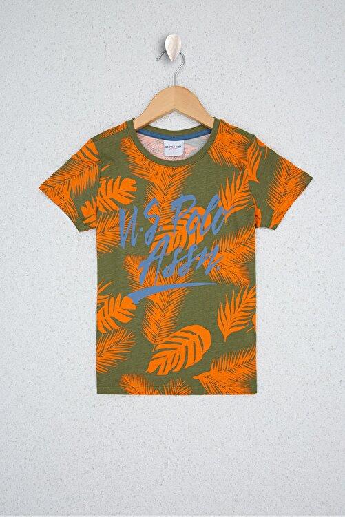 U.S. Polo Assn. Yesıl Erkek Çocuk T-Shirt 1