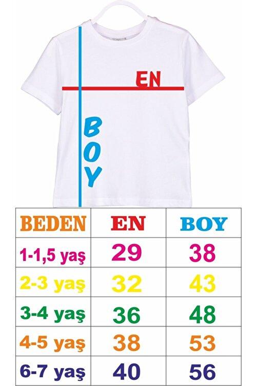 venüsdijital Baba Oğul Baba-yavru Aslan Beyaz Tshirt (TEKLİ ÜRÜNDÜR KOMBİN YAPMAK İÇİN 2 ADET SEPETE EKLEYİNİZ) 2