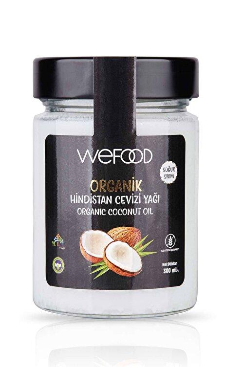 Wefood Organik Hindistan Cevizi Yağı 300 ml (Soğuk Sıkım) 1
