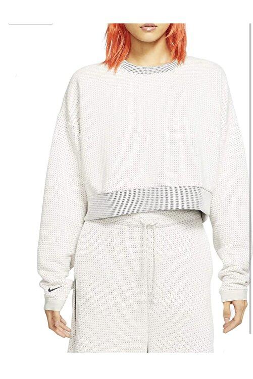 Nike Sportswear City Ready Fleece Crew Kadın Sweatshirt 1