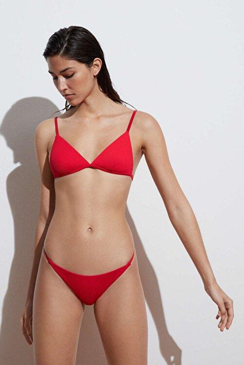Oysho Geri Dönüştürülmüş Rib Bantlı Klasik Bikini Altı 2