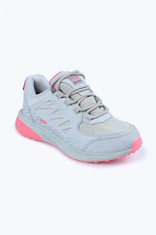 Jump 25740 Bayan Outdoor Su Geçirmez Spor Ayakkabı Gri 2