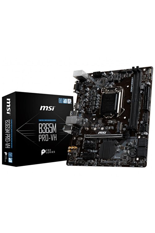 MSI B365m Pro-vh Intel B365 Soket 1151 Ddr4 2666mhz Matx Gaming Anakart 1