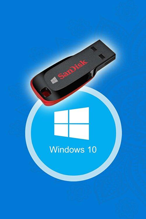 Trendline Windows 10 Kurulum Flash Disk Bellek (UEFI GPT) 1