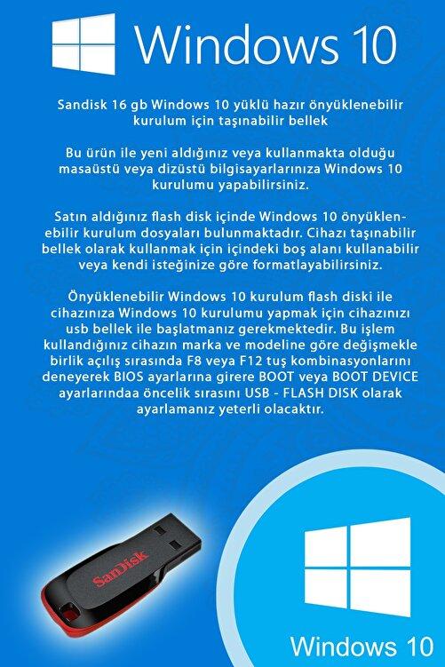 Trendline Windows 10 Kurulum Flash Disk Bellek (UEFI GPT) 2