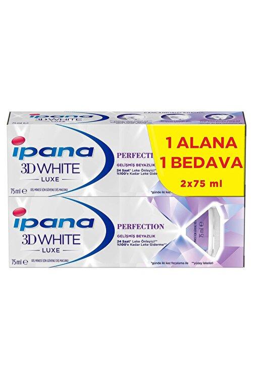 İpana 3 Boyutlu Beyazlık Luxe Perfection Diş Macunu 2x75 ml 1