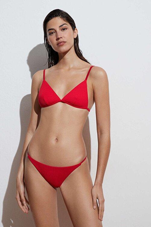 Oysho Geri Dönüştürülmüş Rib Bantlı Brezilya Modeli Bikini Altı 2
