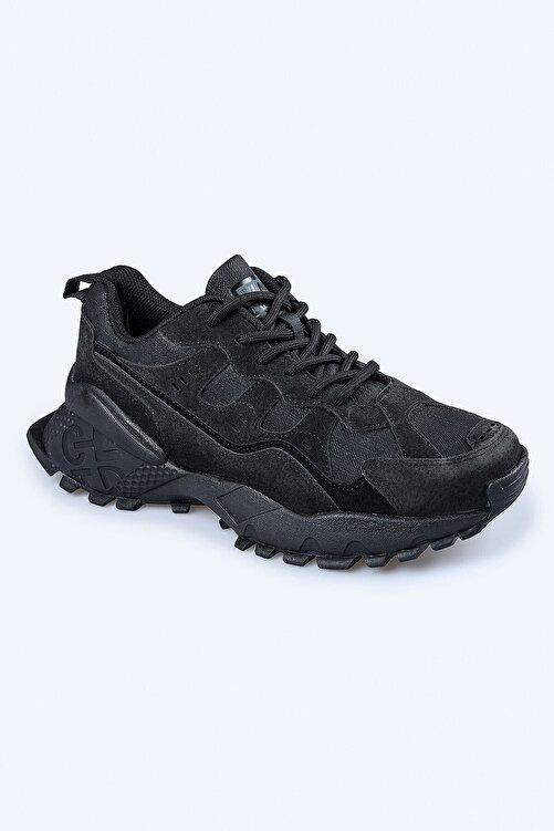 Jump Unısex Siyah Outdoor Spor Ayakkabı 2