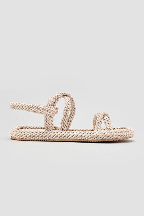 Limoya Pauletta Ten Halat Detaylı Sandalet 2