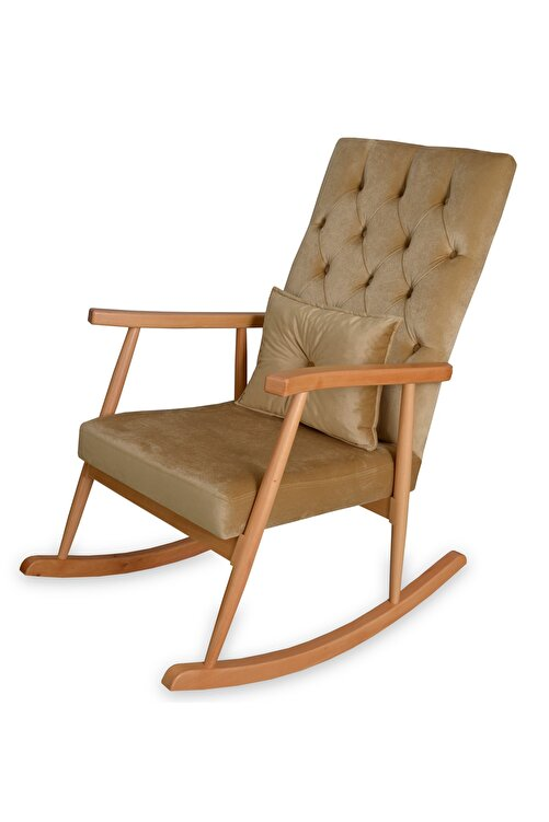 Asedia Trend Naturel-bal Köpüğü Kapitoneli Sallanan Sandalye 2
