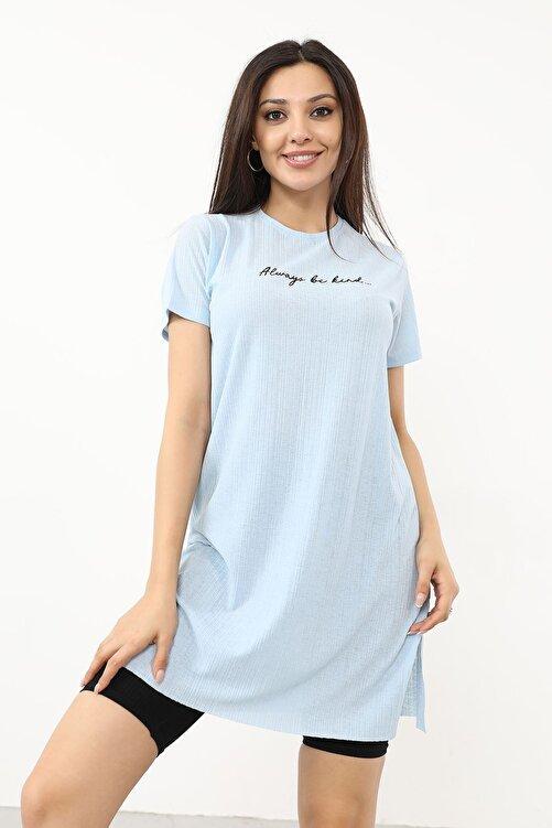 BY H Alwarys Be Kind Baskılı T-shirt 2