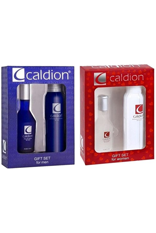 Caldion 50ml Edt 150 ml Deo 2 Adet Unisex Set 2200003196016 1