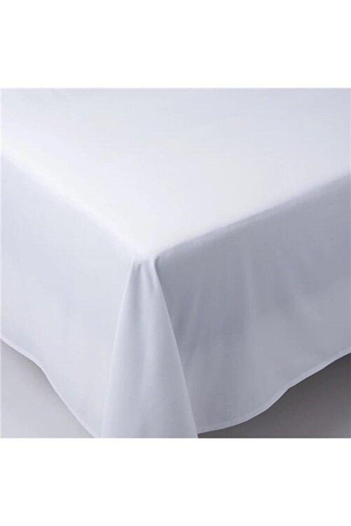üntaş Beyaz Çift Kişilik Düz Beyaz Otel Çarşafı Ecotel3-220x240 2