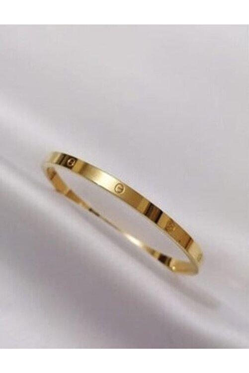 Elegante Kadın Gold Paslanmaz Çelik Bileklik 2