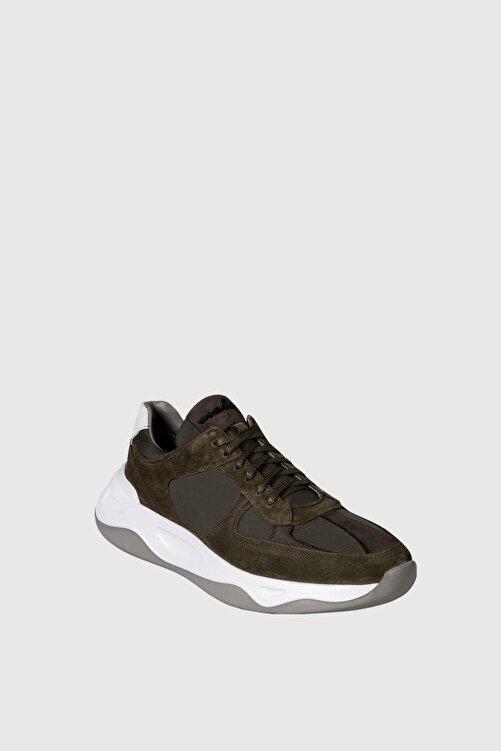 Male Industry Yeşil Süet Erkek Sneaker 2