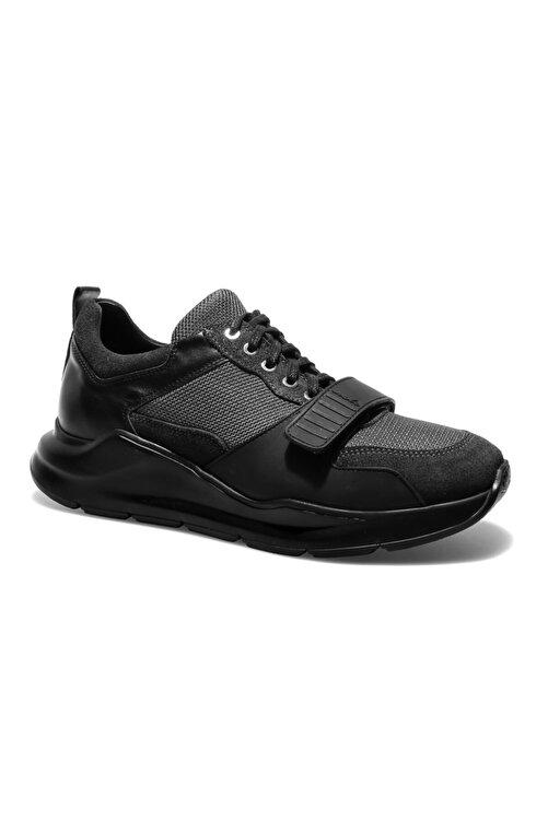 Male Industry Siyah Erkek Oxford Ayakkabı 1MALM2020004 1