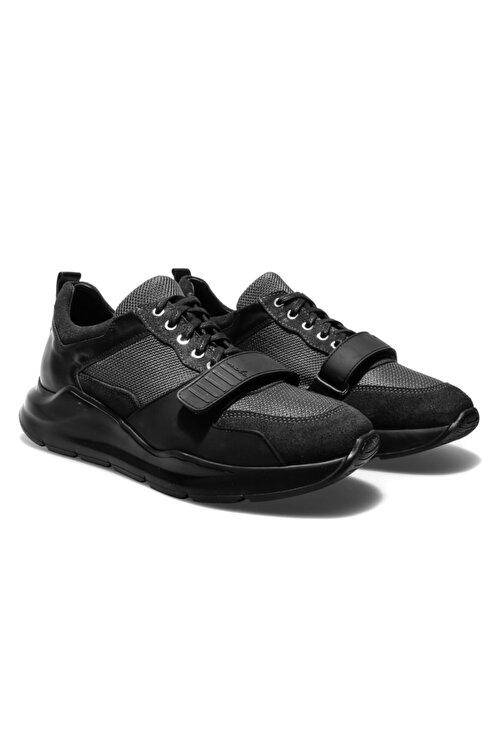Male Industry Siyah Erkek Oxford Ayakkabı 1MALM2020004 2