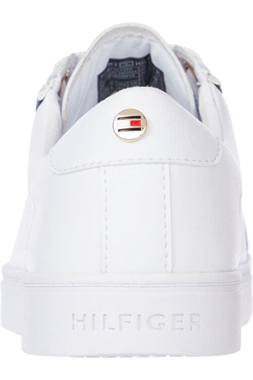 Tommy Hilfiger Fw0fw05910ybr Beyaz Kadın Sneaker 1