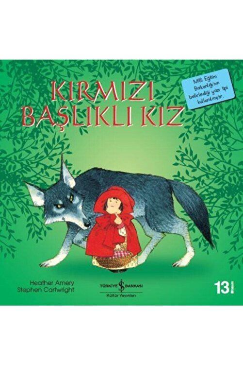 İş Bankası Kültür Yayınları Kırmızı Başlıklı Kız 1