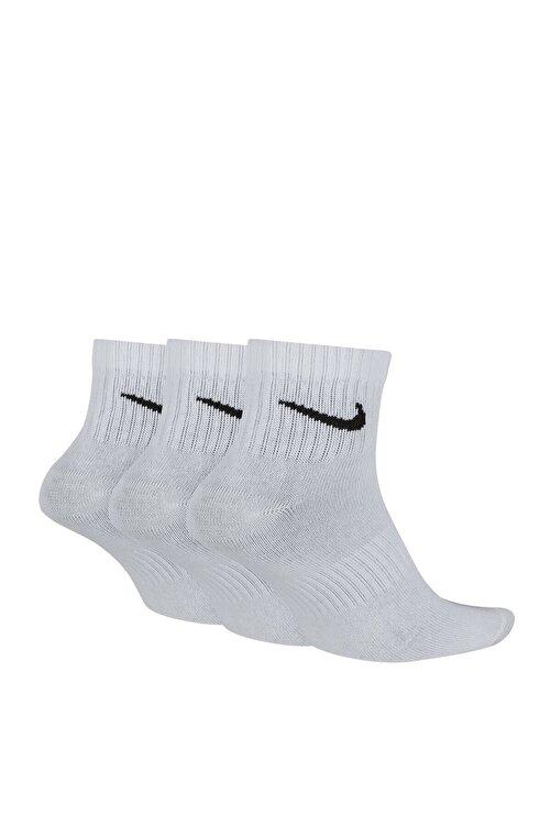 Nike Unisex Çorap - U NK EVERYDAY LTWT ANKLE 3PR - SX7677-100 1