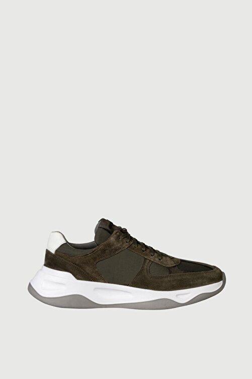 Male Industry Yeşil Süet Erkek Sneaker 1