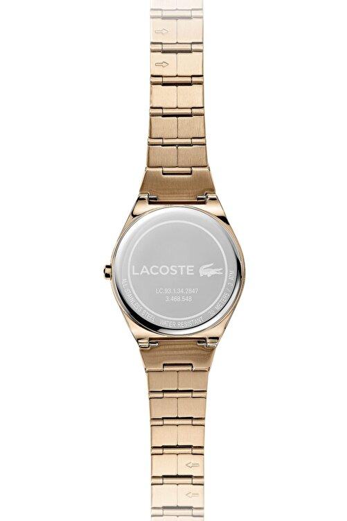 Lacoste Kadın Pembe Altın Kol Saati 2001055 2