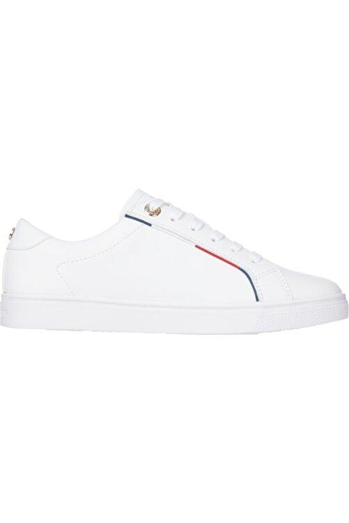 Tommy Hilfiger Fw0fw05910ybr Beyaz Kadın Sneaker 2
