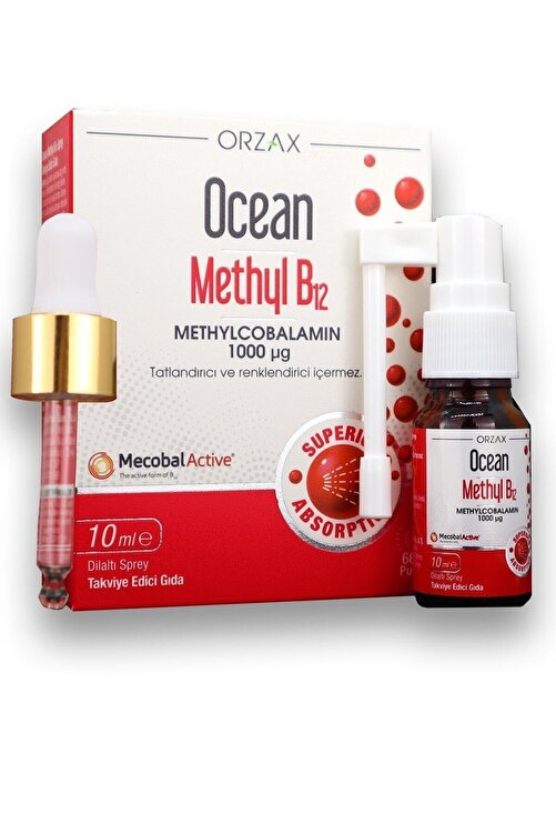 Ocean Methyl Cobalamin B12 Sprey 10 ml 2