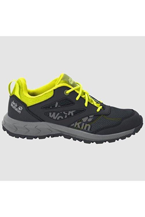 Jack Wolfskin 4042171 Woodland Low Black/lime Kadın Outdoor Ayakkabı 2