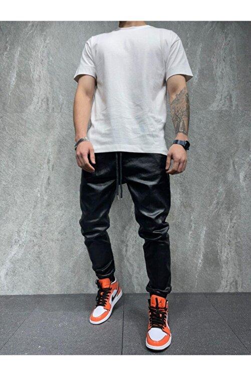 BPM Premium Deri Tasarım Erkek Kot Pantolon 2