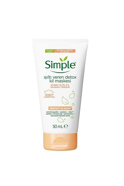 Simple Protect & Glow Kil Maskesi Detox Işıltı Veren 50 ml 1