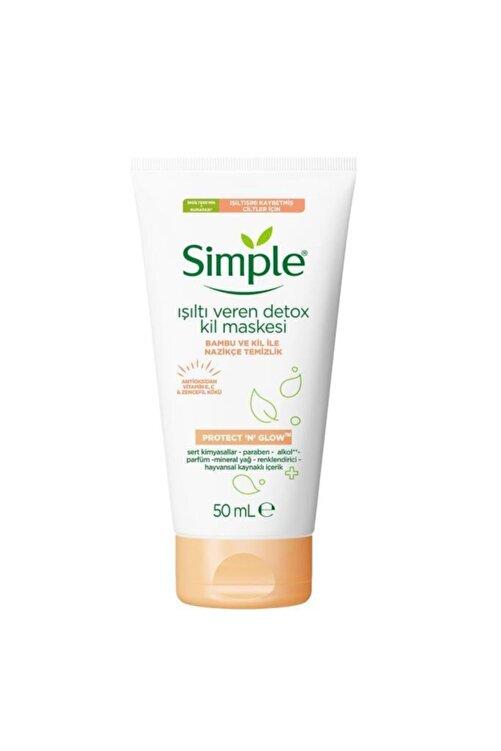 Simple Protect & Glow Kil Maskesi Detox Işıltı Veren 50 ml 2