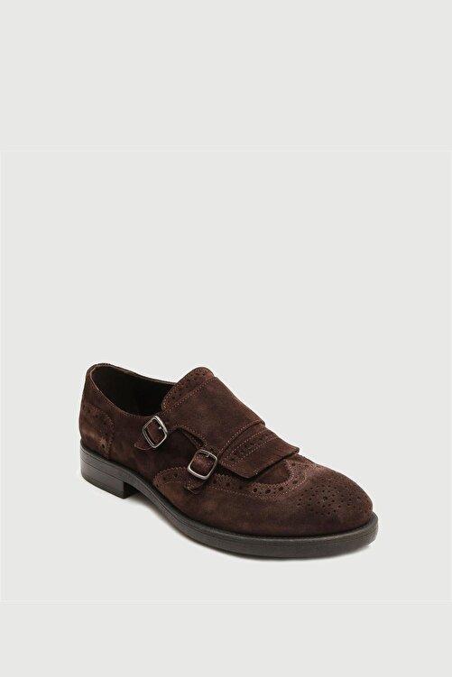 Male Industry Kahve Deri Püsküllü Tokalı Erkek Ayakkabı 2