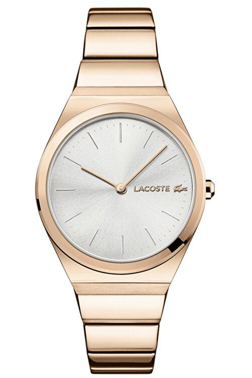 Lacoste Kadın Pembe Altın Kol Saati 2001055 1