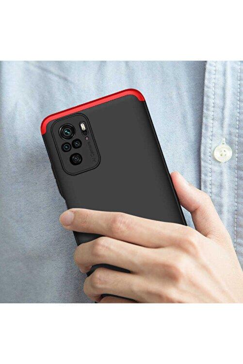 Xiaomi Coverstation Redmi Note 10 Pro Kılıf Ays Kapak 360° Tam Koruma Darbe Emici Kamera Koruyucu Mat Kapak 2