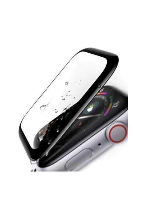 KVK PRİVACY Apple Watch 3 4 5 6 Se 44mm 5d Kavisli Tempered Kırılmaz Cam Koruyucu 2
