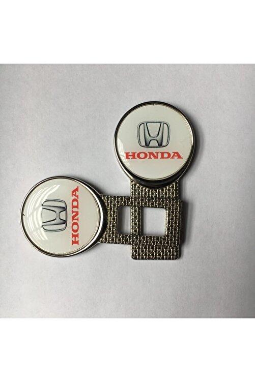 Honda Logolu Araç Kemer Susturucu 2 Adet Metal 2