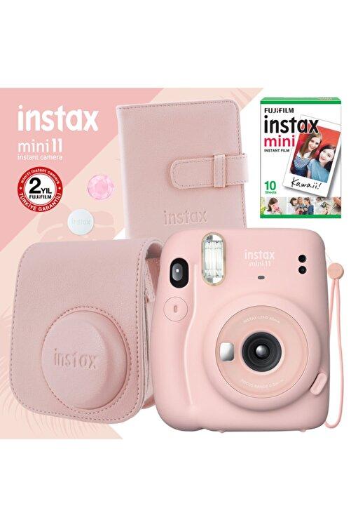 Fujifilm Instax Mini 11 Pembe Fotoğraf Makinesi Ve Kare Albümlü Hediye Seti 22 1