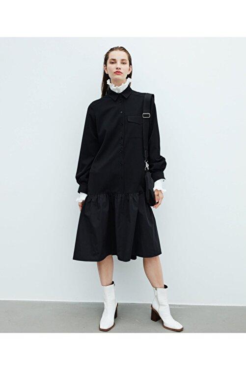 İpekyol Volanlı Elbise 1
