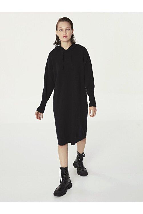 Twist Kapüşonlu Sweat Elbise 2